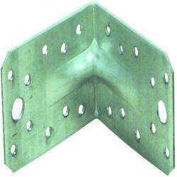 Equerre renforcée 150x150x65x2.5 mm galvanisé Senzimer