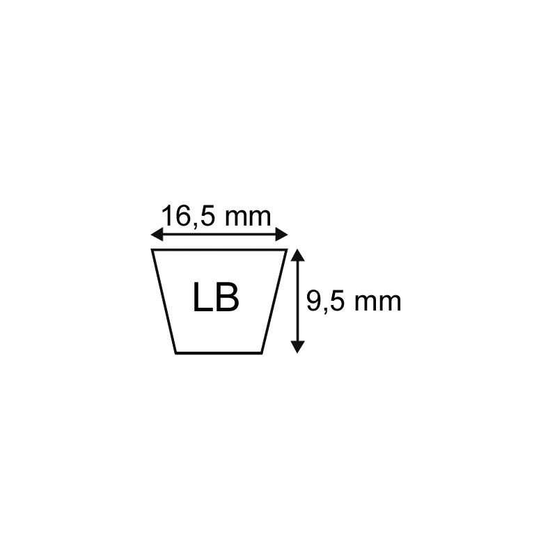 Courroie LB36 (5l37) origine Mitsuboshi