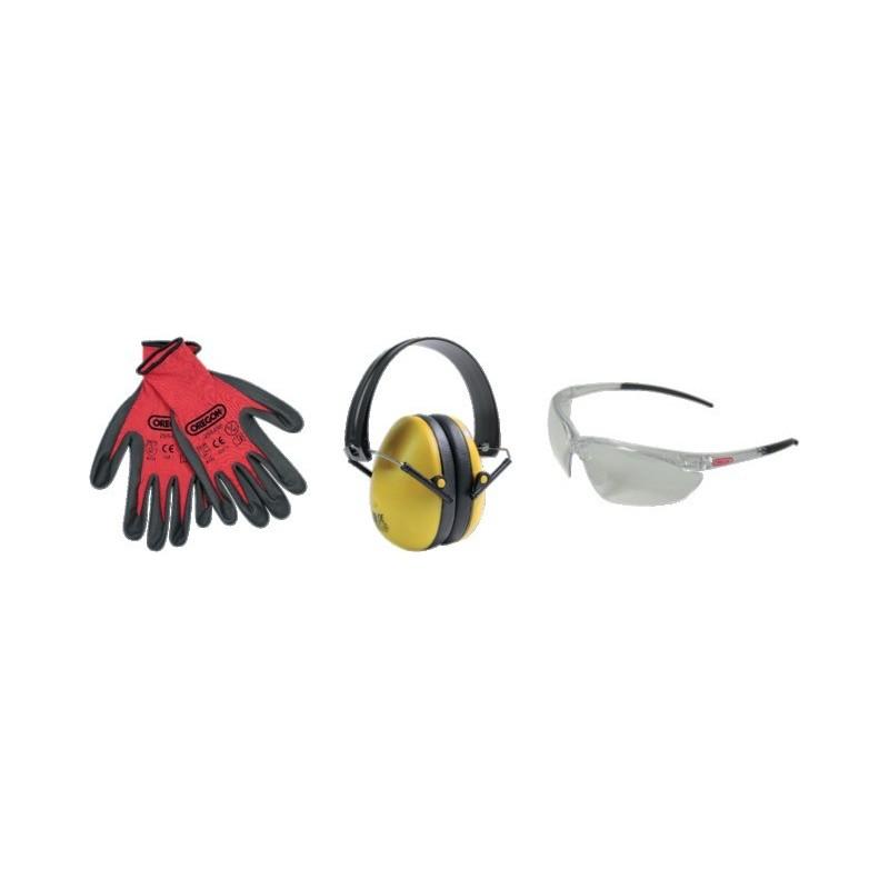 Kit de protection des yeux oreilles et mains Oregon