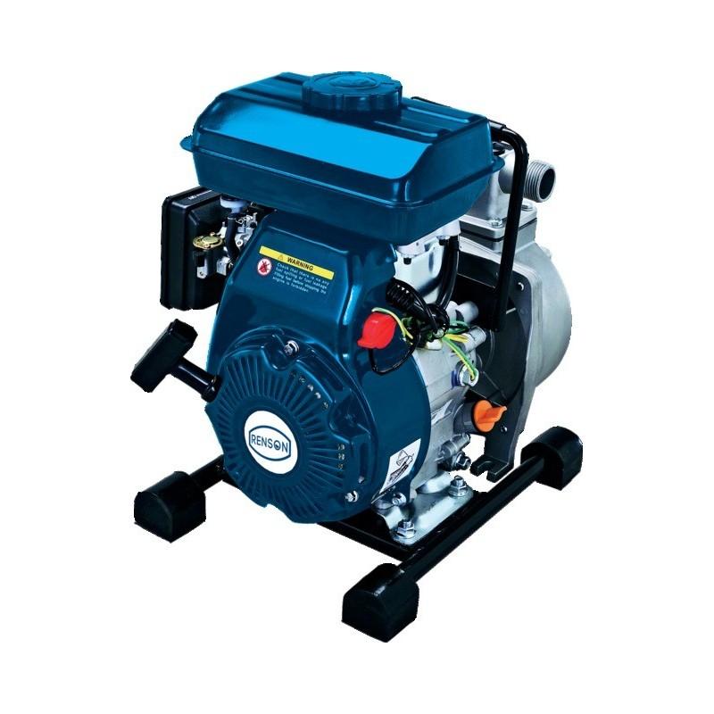 """Motopompe arrosage 1"""" eaux claires essence 4 tps 12m3/h"""