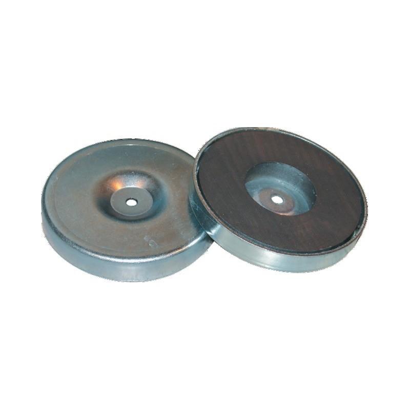 Plot magnétique rond 80 mm blister de 2