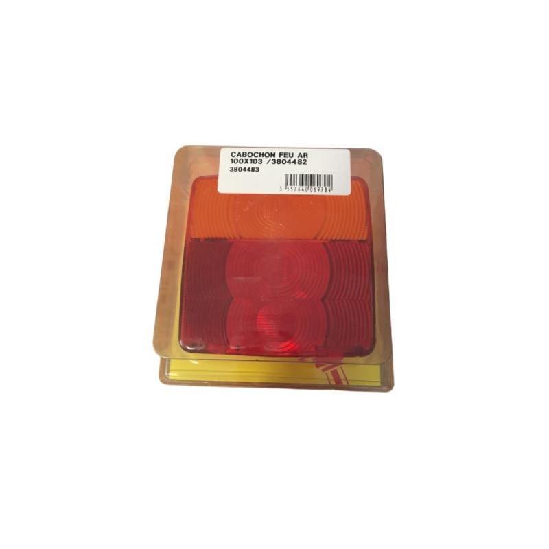 Cabochon feu arrière 100x103mm pour 3804482 (box)