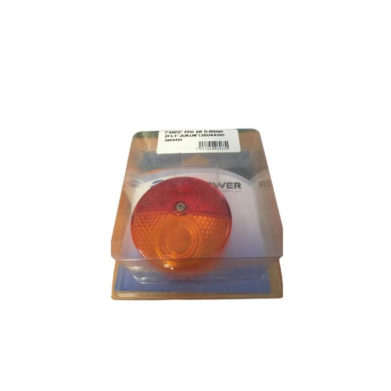 Cabochon feu arrière 2 fonctions d.80 pour 3804450 (box)