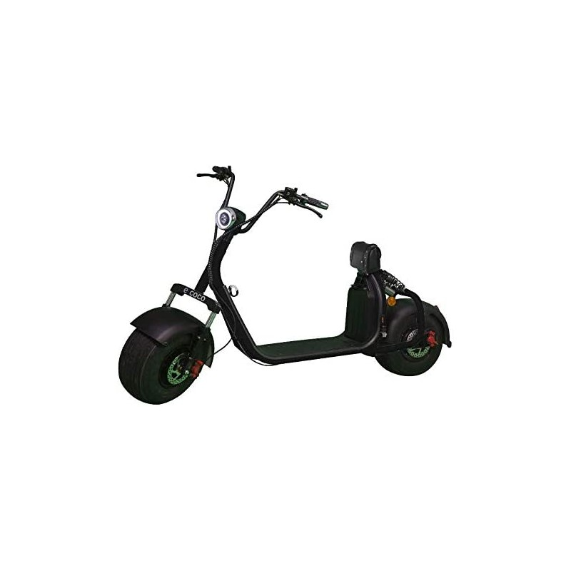 E-COCO City Trotinette/Scooter Électrique 1000W