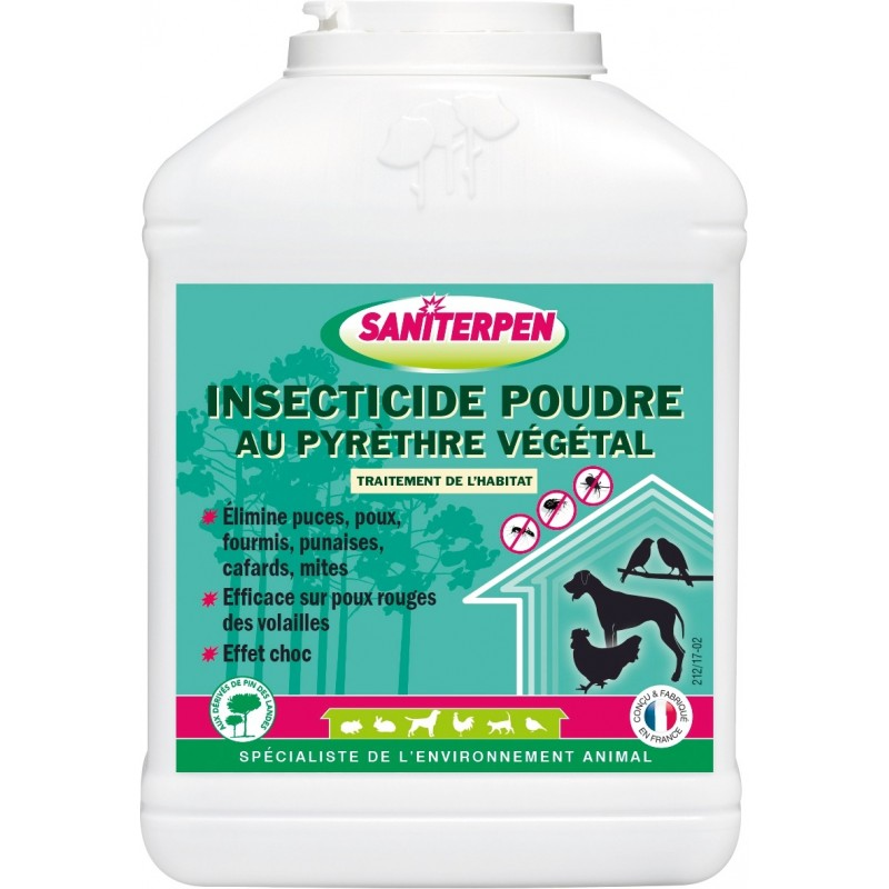 INSECT POUD PYRETHRE VEG 500G