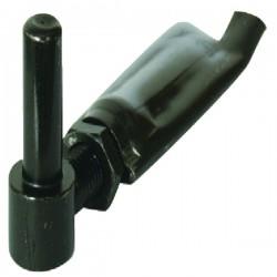 Gond réglable sceller diamètre 14 mm noir