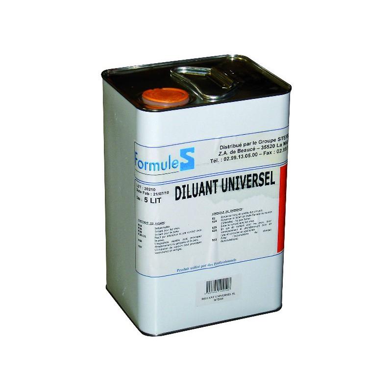 DILUANT UNIVERSEL 5L /LAQUE ANTIR. FORMULE S