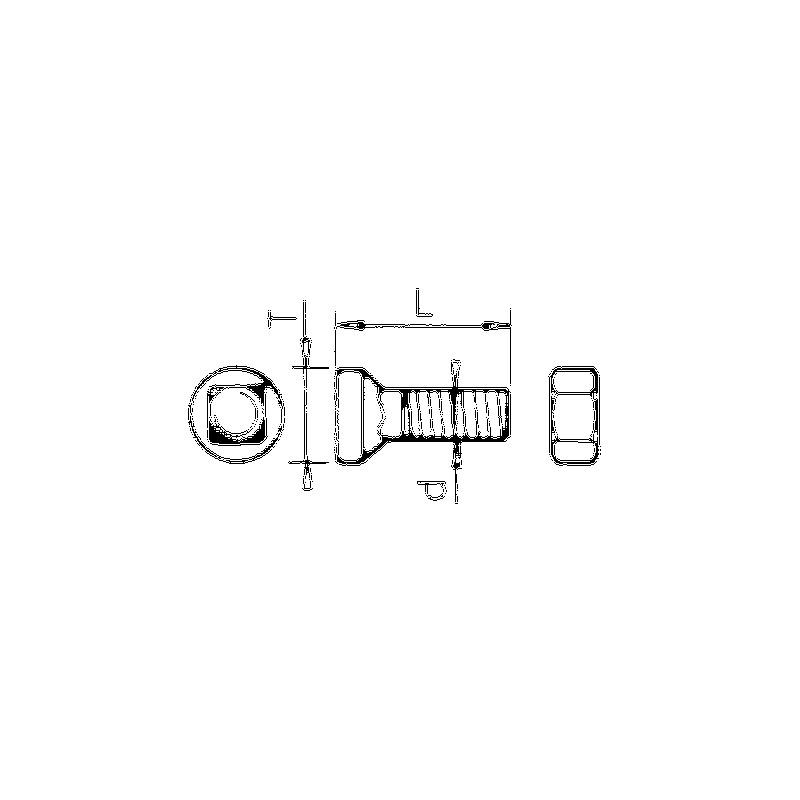 BOULON M12X34 conditionn?par 40 pieces