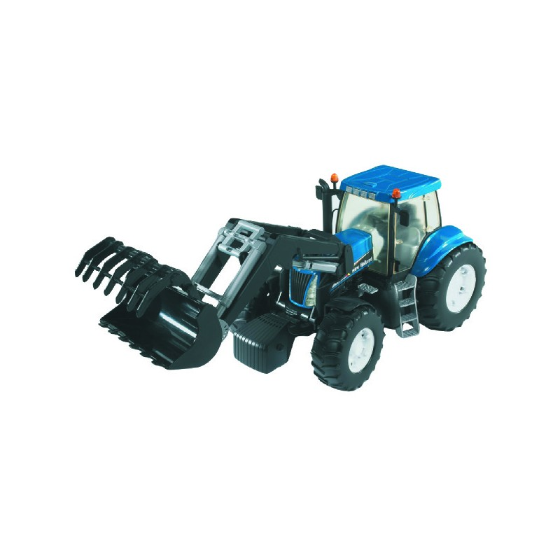 TRACTEUR NEW HOLLAND T8040+CHARGEUR
