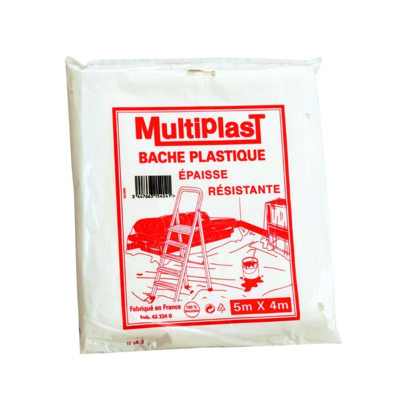 BACHE DE PROTECTION 5MX4M EPAISSE
