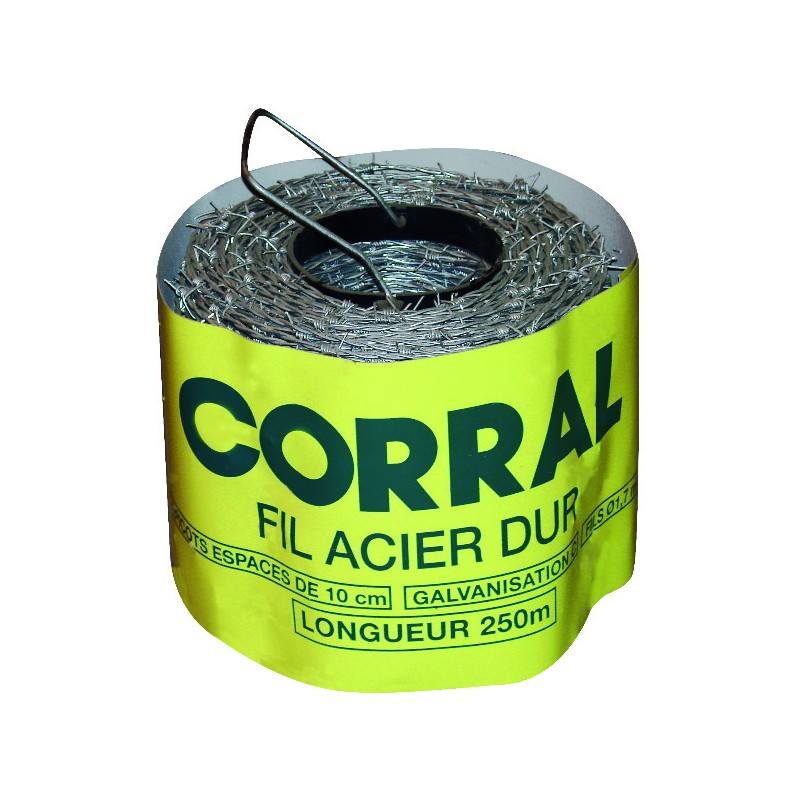 RONCE CORRAL CLASSE C 250M ZN ALU