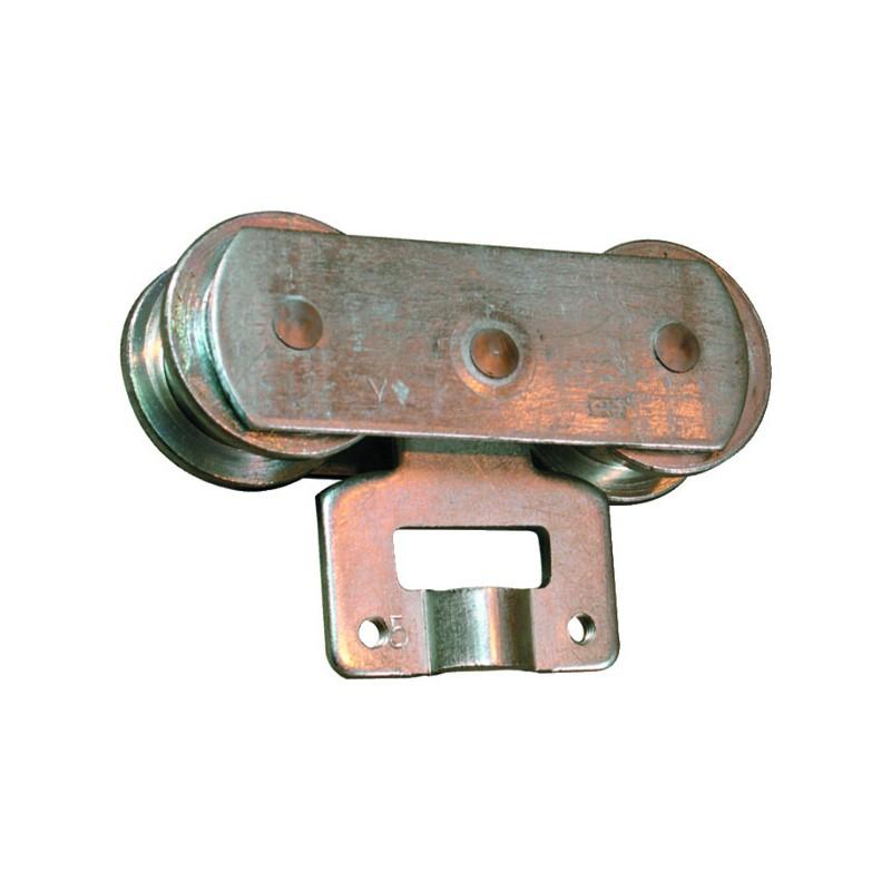 MONTURE A GALET PR RAIL TUB. 50X40