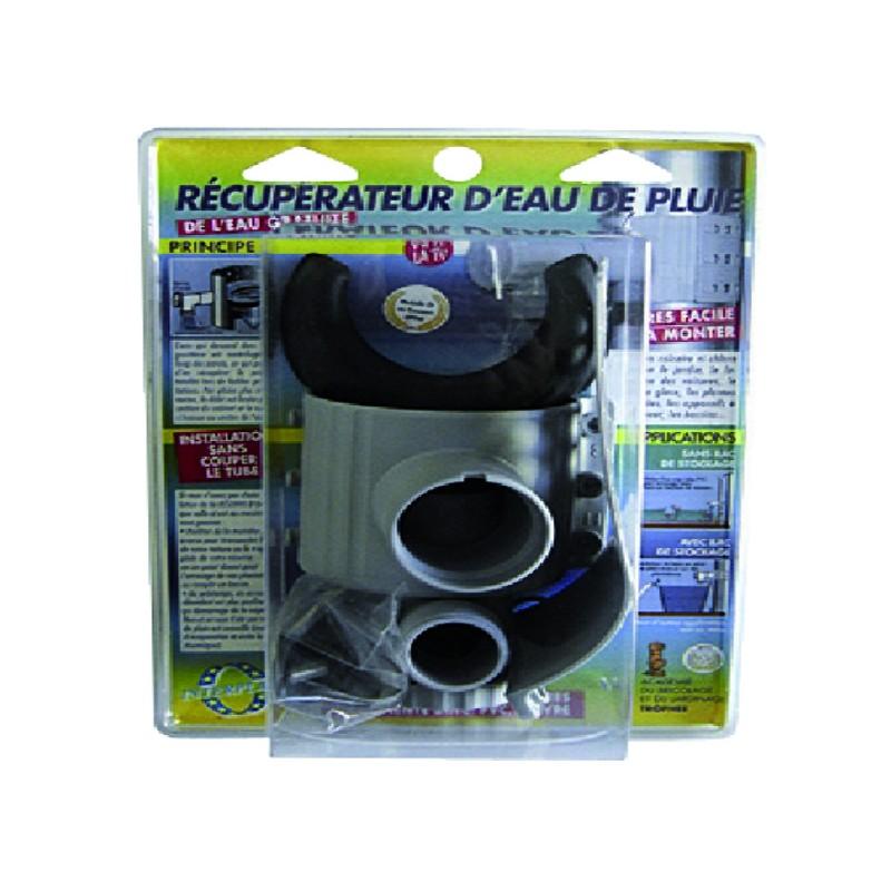 RECUPERATEUR EP DIA TUYAUX 75-100 MM GRIS