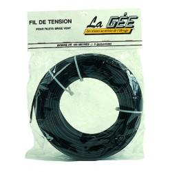 ROULEAU DE 100M FIL TENSION PVC