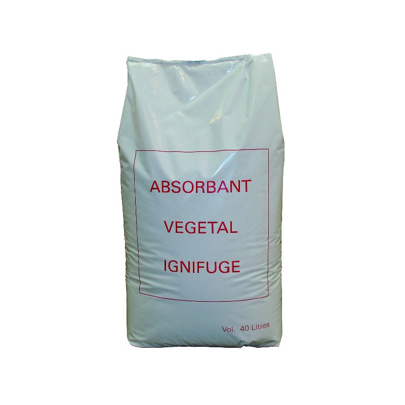 ABSORBANT VEGETAL EVABSORB SAC DE 40L