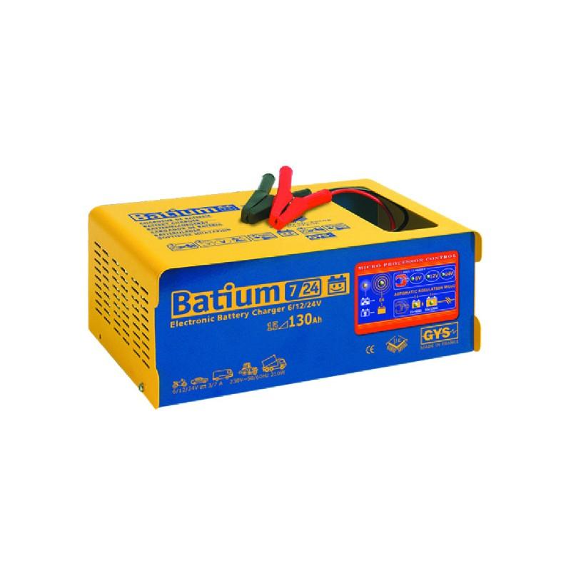 CHARGEUR BAT.AUTOMAT.BATIUM 7-24 6/12/24V GYS