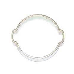 Collier 2 oreilles Ø extérieur du tuyau à serrer 11 à 13 mm