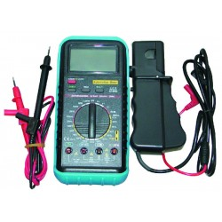 Multimètre digital pro sonde température compte tours