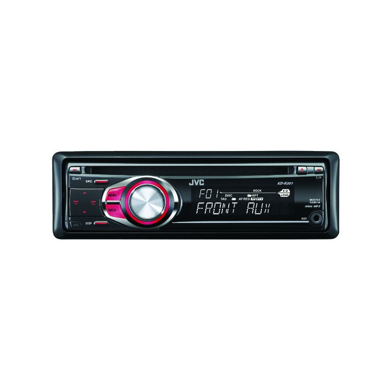 AUTORADIO CD/MP3/WMA JVC KD R301 4X50W RGE