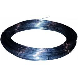 Fil de clôture galvanisé n° 13 diamètre 2.0 mm Classe c 41 mètre/kg