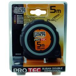Ruban rubber 8mx25 mm boit. bi-matière Stelec