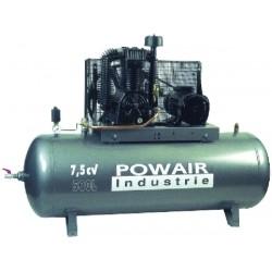 Compresseur 7 5 cv 500 litres 11 bars bi tage fonte 52m3 power - Compresseur 500 litres ...