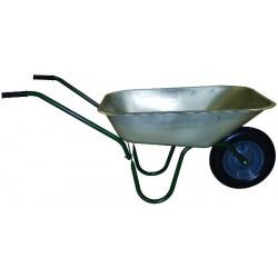Brouette kit 80 litres galvanisé roue gonflée diamètre 355 mm