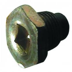 BOUCHON VIDANGE 16X150 MAGN.CC8 6 PANS D.21