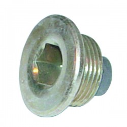 BOUCHON VIDANGE 22X150 MAGN.6 PANS CREUX D.25