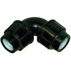 Raccord pp coude 90 à joint diamètre 20 mm