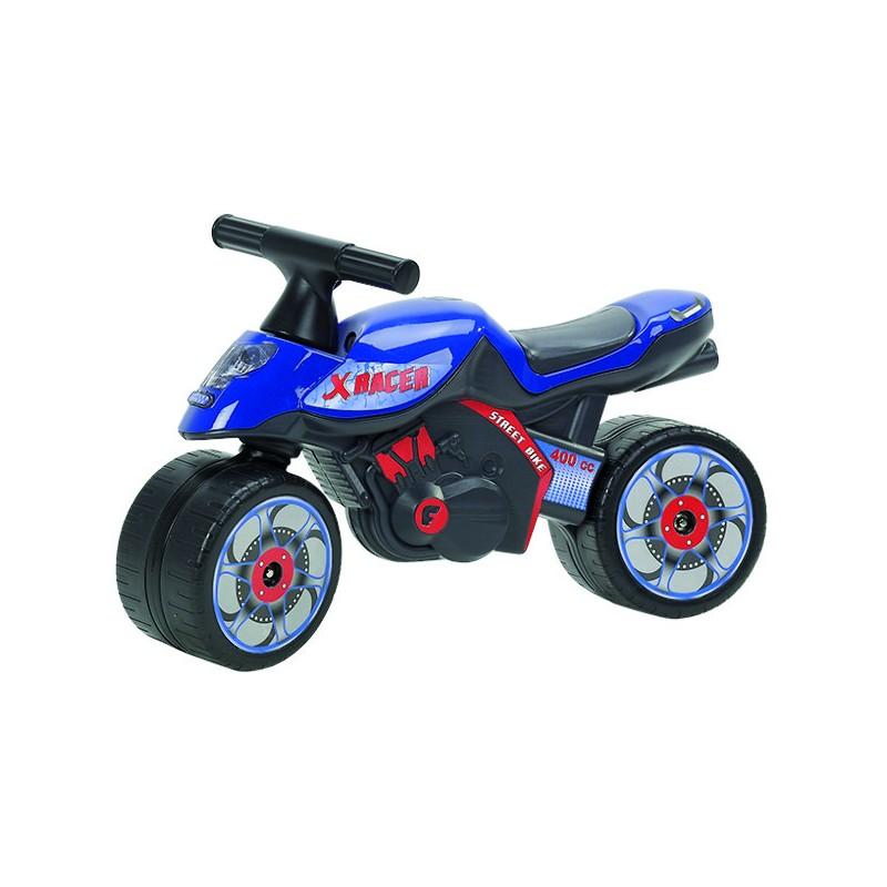 MOTO XRACER BLEUE 1/3 ANS
