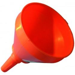 Entonnoir plastique diamètre 250 mm bec droit