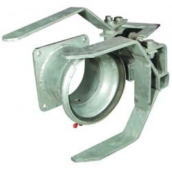 """Kit accrochage automatique 6""""-150 mm zingue"""