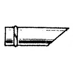Manchon puit mâle longueur 400 mm diamètre 200 mm