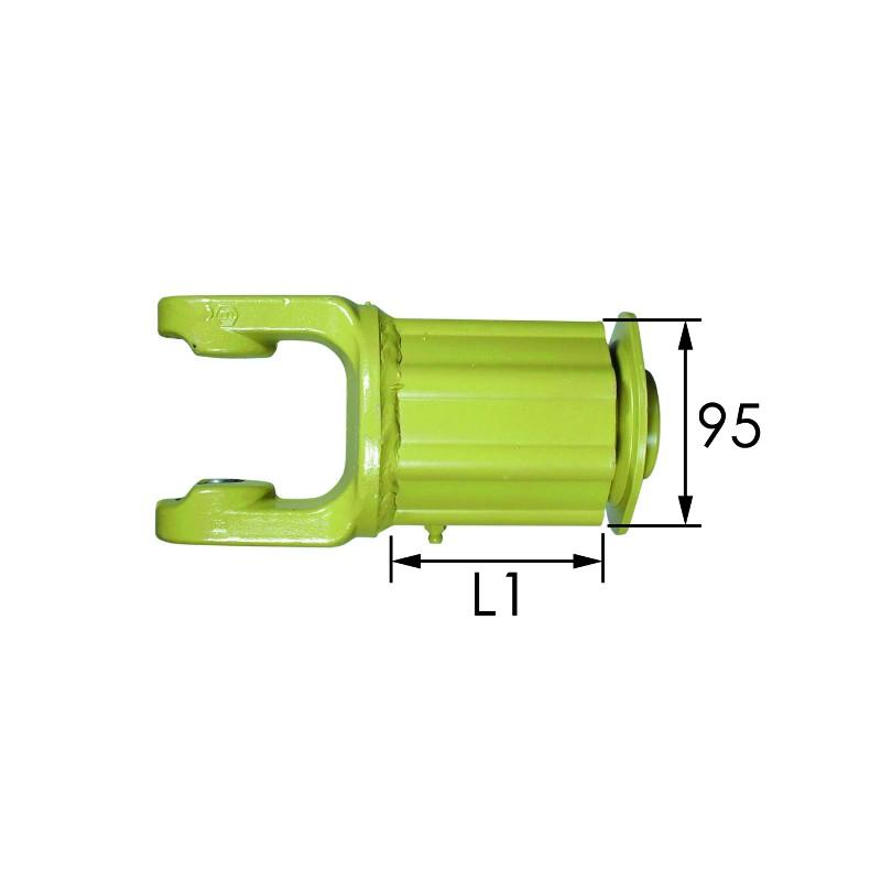 """LIMITEUR CAMES 4R-1""""3/8 6 C - CR 27 X 74,5"""