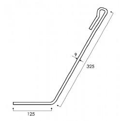Dent de semoir GW420 pour Amazone 952461
