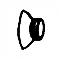 Ventouse ronde diamètre 35 planteuse Ribouleau