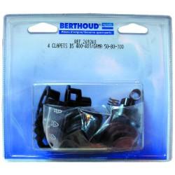 Clapets DS 401 & G 100 affectation DS400/401 GAMA 50 - 80 - 100 Berthoud