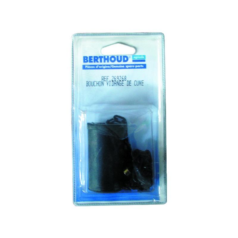 BOUCHON DE VIDANGE+CHAINETTE 327518 BERTHOUD
