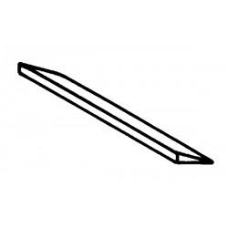 Coutre standard longueur 465x54 ep15 Ribouleau