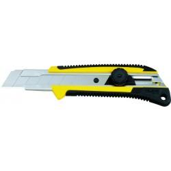 Cutter Grip antidérapant 25 mm verrouillage molette