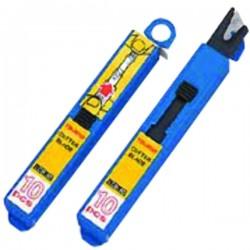 Lames de cutter 9 mm (Distributeur 10 lames)