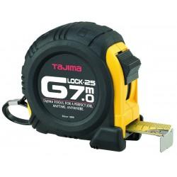 Mètre g lock 7mx25 mm boitier anti-choc jaune