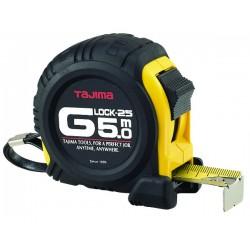 Mètre g lock 5mx25 mm boitier anti-choc jaune