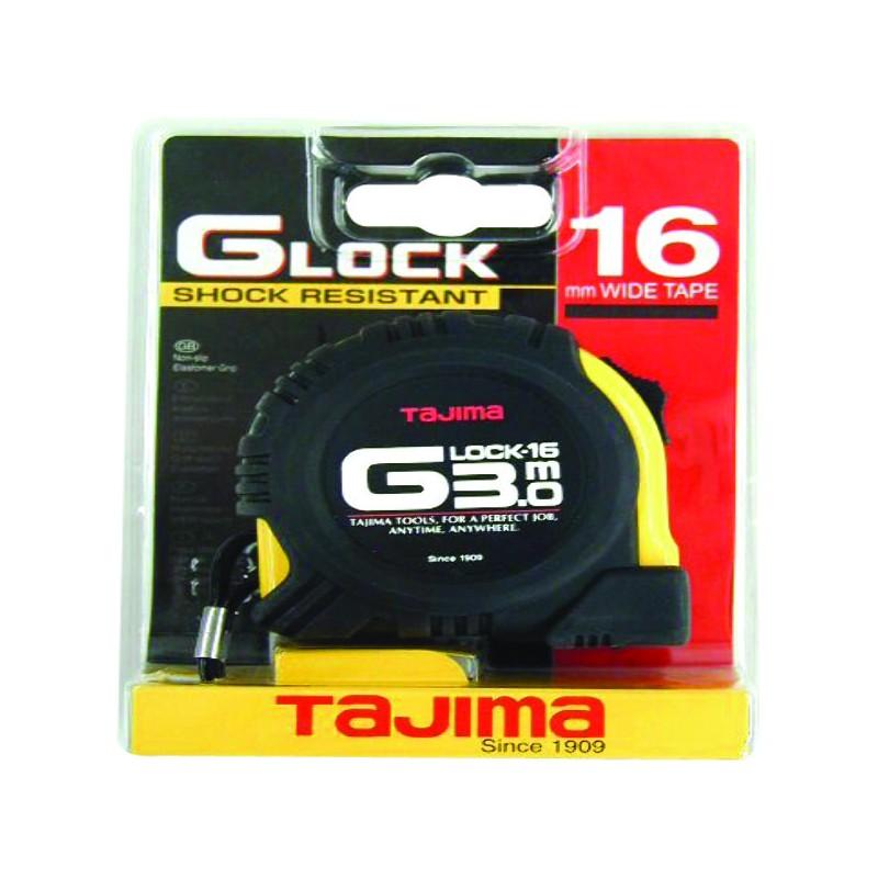 METRE G LOCK 3MX16MM BOITIER ANTI-CHOC JAUNE