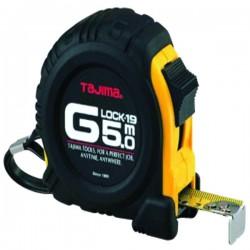 Mètre g lock 5mx19 mm boitier anti-choc jaune