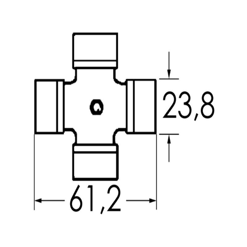 CROISILLON SDT 23,8X 61,3