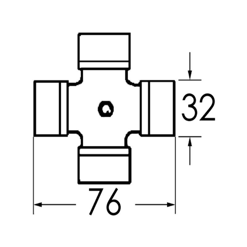CROISILLON SDT 32 X 76