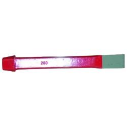 Burin acier chrome longueur 200 mm largeur 20 mm