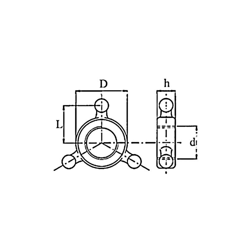 COLLIER ETOILE 36X3